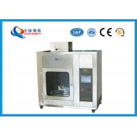 China IEC 60695 Stainless Steel Needle Flame Testing Equipment / Pin Flame Test Chamber on sale