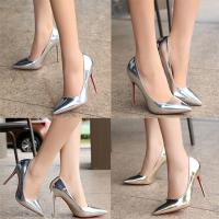 High quality Ladies gold Ultra stilettos heels women 2017 red bottom shoes Manufactures