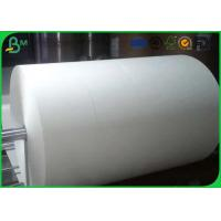 One / Two Side Coated Glossy Art Paper Jumbo Roll For Making Stick Paper Manufactures