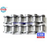 High Temp Mechanical Transmission Components , Steel Roller Triplex  Roller Chain Manufactures