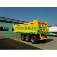 40-60 Tons Semi Trailer Trucks 2FUWA Axles Square U Shape Design Manufactures