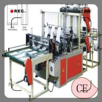 Photoelectric Tracking Double-Layer Six-Line Bottom Sealing Plastic Flat and Guseted Color Printed Bag Making Machine Manufactures