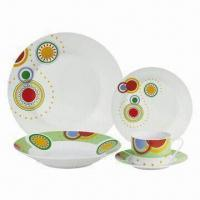 Porcelain Dinnerware Set with AB Grade Manufactures