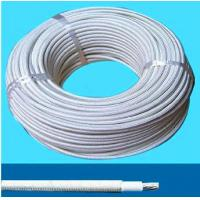 China flexible silicone rubber insulated heating wire cable,200 degree high temperature heater wire UL3323 on sale