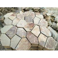 Garden slate Stepping Stone flagstone courtyard road paving Manufactures