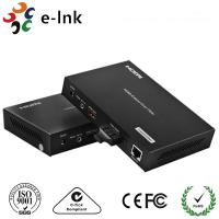 1 Channel HDMI Over Fiber Optic Extender  with 1 Channel 10 / 100M Ethernet Manufactures