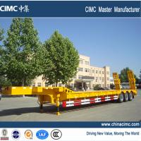 low bed semi trailer , tri-axle low bed semi trailer Manufactures