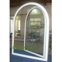 UPVC Windows For Residential Home, Double Glazed Arched Casement Window, Waterproof  Vinyl Windows For Sale Manufactures