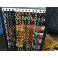 DIY Metal Drapery Chain Link Curtain Multi Color For Restaurant Interior Manufactures