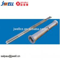 China Co Rotation Parallel Extruder Screw Elements Alloy Material Smooth Surface on sale