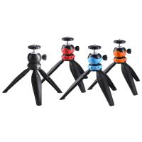 China Pocket Mini Camera Tripod Mount with 360 Degree Ball Head & Phone Clamp for Smartphones on sale