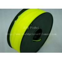 Quality Yellow HIPS 3d Printer Filament 1.75 , material for 3d printing Markerbot , for sale
