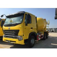 9m3 Mixer Cubage 6x4 New Cement Truck , 371HP HOWO A7 Cement Mixer Truck Manufactures