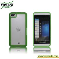PC hybird hard case for Blackberry Z10, PC+TPU skin cover accessory Manufactures