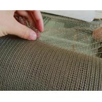 8 Mm-1200mm Stainless Steel Knitted Wire Mesh Environmental Protection Manufactures