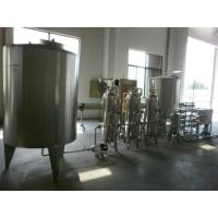 Stainless Steel Pure Water Treatment Machine / Line , Water Filtration System 220/300V Manufactures