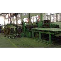 Hydraulic Hot Roll Mild Steel Slitting Line 6x1600mm Welded By Steel Plate Manufactures