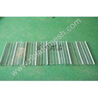 Stainless Steel Rib Lath Mesh , Hot Galvanized Expanded Metal Mesh Manufactures