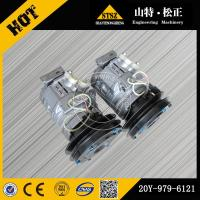 high quality geunine parts PC200-7 air compressor 20Y-979-6121 Manufactures