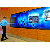 49 Inch 3.5mm Multi Touch Wall Display , Store Advertising Interactive Video Display With Camera Manufactures