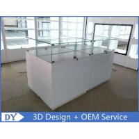 Simple Wood Jewelry Display Cases / Jewellery Display Counter Manufactures