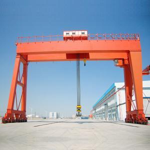 Port Motorized Gantry Crane Double Girder 50 Ton Hoist Industrial Lifting Manufactures