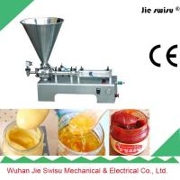 Factory Sale 304 Stainless Steel Pneumatic Cream Filling Machine Manufactures