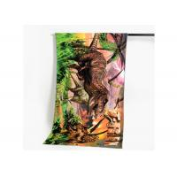 Custom Multi Color Cotton Beach Towels Heat Transfer Printing For Outdoor Manufactures