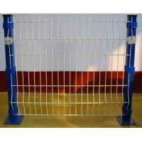 Bending Triangular Welded Wire Mesh Fence PVC Coated For Road Manufactures