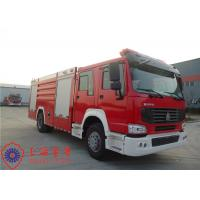 20 Ton Loading Water Tanker Fire Truck Flat Top Four - Door Lengthen Cab Manufactures