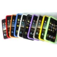 Waterproof Colorful Soft Cell Phone Silicone Cases For Iphone 4s Manufactures