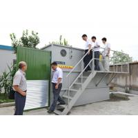Carbon steel or SS MBR equipment /  Package Sewage Treatment Plant biological process Manufactures