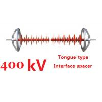 400 kV Composite Interphase Spacer Clevis Type Creepage Distance 14500mm Manufactures