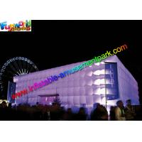 China Large Cube Inflatable Party Tent Air Building For Music Dancing on sale
