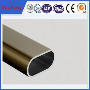 Hot! oem 6000 series aluminium extrusion profile tube, 6063 t5 aluminium wardrobe tube Manufactures