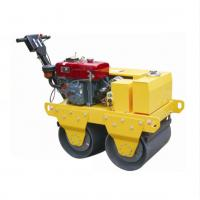 China 7HP 20 KN Durable Double Drum Vibratory Road Roller For Foundation Ditch on sale