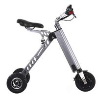 Durable 8 Inch Portable E Bike Electric Folding Scooter 2 Year Quility Warranty Manufactures