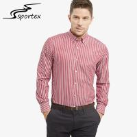 Beautiful Appearance Male Formal Shirts 100% Cotton Fabric Type Soft Hand Feeling Manufactures