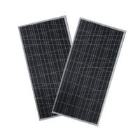 Waterproof  Polycrystalline Solar Panel IP65 , Silicon Solar Pv Module Black TPT Manufactures