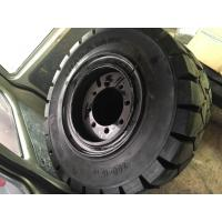 Heavy duty forklifts rubber fork lift tyres / forklift truck spare parts Manufactures