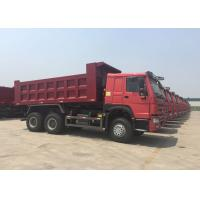 China SINOTRUK HOWO Tipper Dump Truck 10 - 25CBM With Air Suspension Seat MINI Player on sale