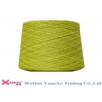 Ring Spun or TFO Dyed Polyester Yarn , Colorful Polyester Spun Yarn Manufactures