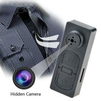 Spy Button Camera DVR  The 2019 New Best Quality HD 1080P Mini Button Camera DVR Made In China Manufactures