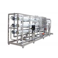 Pure Water RO Water Treatment Plant / Reverse Osmosis Water Filter Machine Manufactures