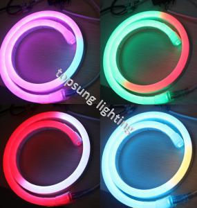 China 14*26mm size led digital neon flex light with low voltage 24v lights on sale