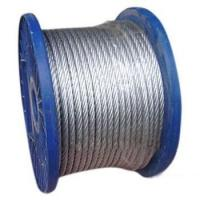 Anti-Twisting Galvanized Steel Wire Rope For Yacht Rigging 1 x 19 Manufactures