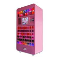 China Pink Commercial Arcade Cosmetic Vending Machine For Shopping Center on sale