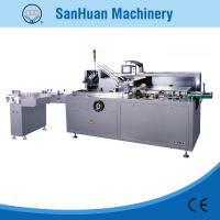 Round / Square Bottle Automatic Cartoning Machine With Auto Feeding And Packing Manufactures