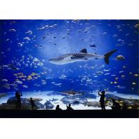 Large Milky Transparent PMMA Aquarium Acrylic Sheet Thickness 2mm - 500mm Manufactures