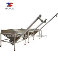 Simple Structure Inclined Screw Feeder For Ceramic / Food / Plastics Industry Manufactures